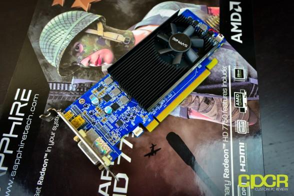 sapphire hd 7750 1gb low profile custom pc review 4