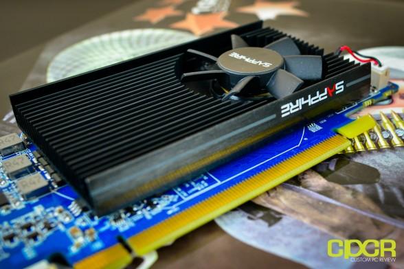 sapphire hd 7750 1gb low profile custom pc review 5