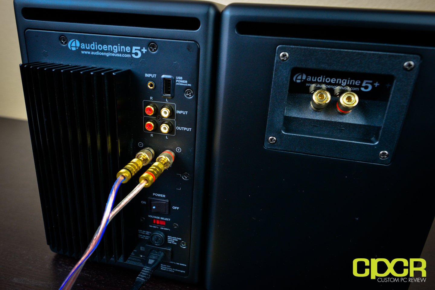 Audioengine 5 A5 Speakers And D1 Dac Review Custom Pc Speaker Jacks Wiring Includes A 123 Ft Wire