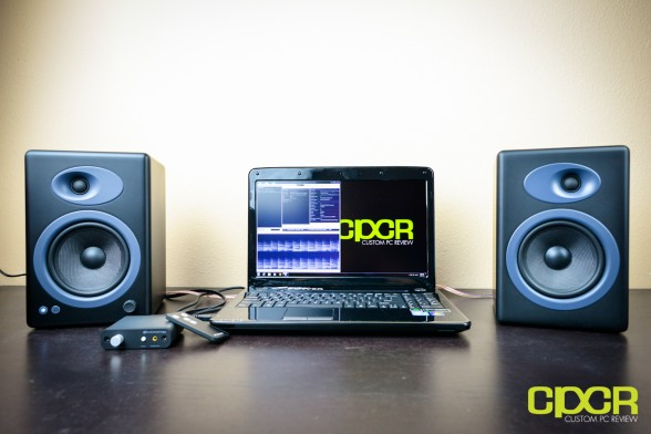audioengine 5+ speakers custom pc review 9