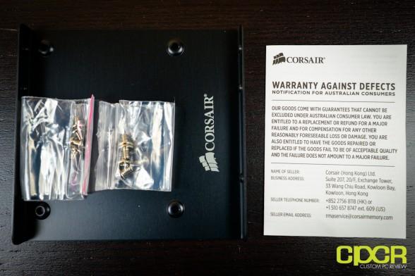 corsair force series gs 240gb ssd custom pc review 1