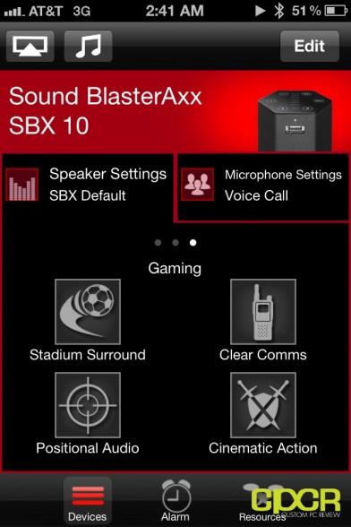 creative sound blaster axx ios software custom pc review 4