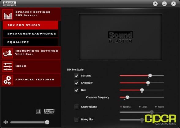 creative sound blaster axx software custom pc review 2