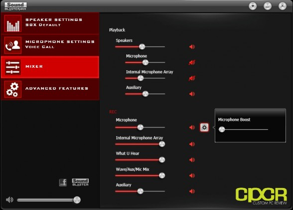 creative sound blaster axx software custom pc review 6