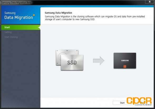 data migration 1 samsung 840 250gb ssd custom pc review