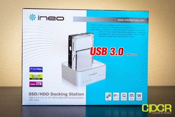 ineo i na321U+ hdd ssd docking station custom pc review 1