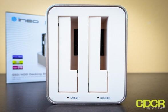 ineo i na321U+ hdd ssd docking station custom pc review 5