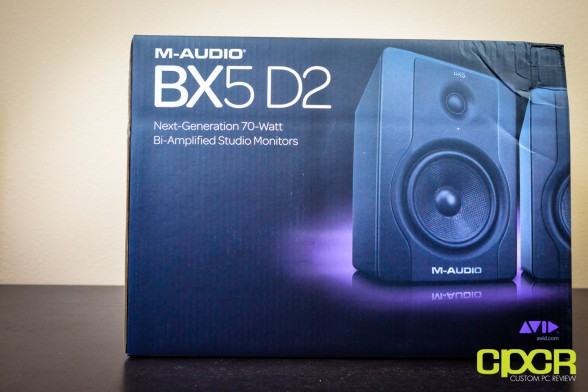 m audio bx5 d2 studio monitors custom pc review 1