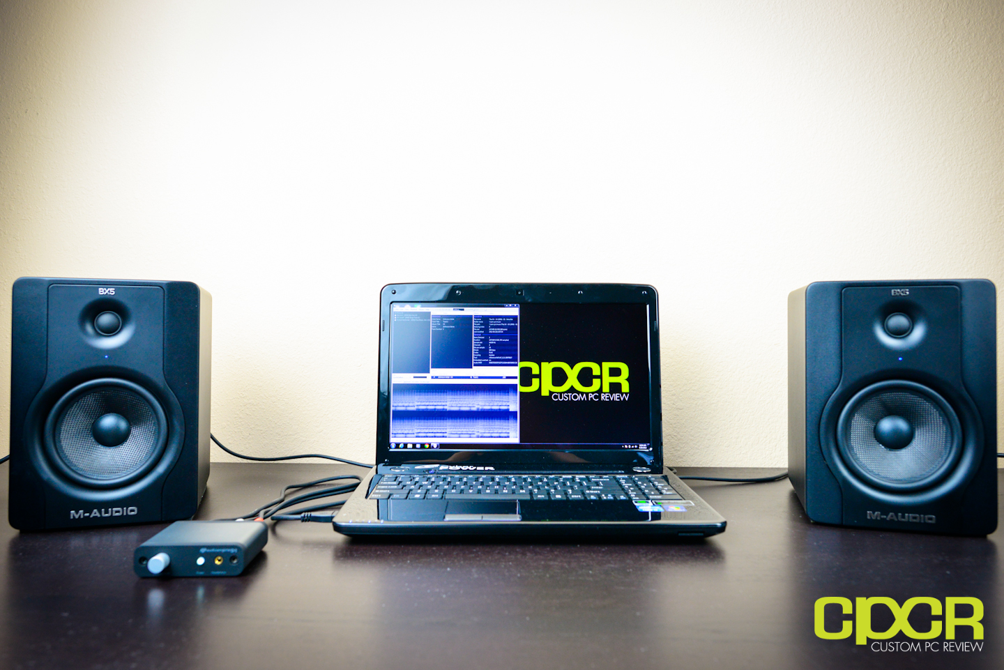 Plugged In Review >> M-Audio BX5 D2 Studio Monitor Review | Custom PC Review