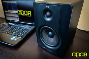 m audio bx5 d2 studio monitors custom pc review 12