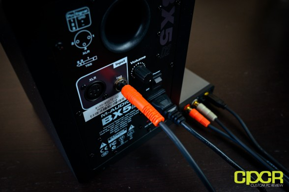 m audio bx5 d2 studio monitors custom pc review 19