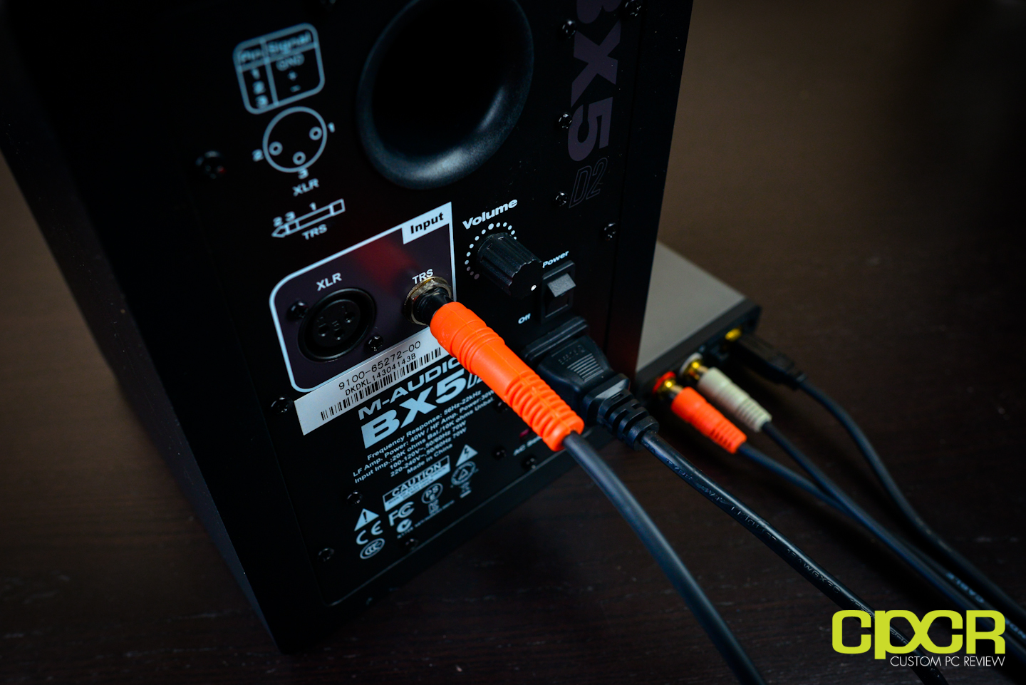 M-Audio BX5 D2 Studio Monitor Review | Custom PC Review on