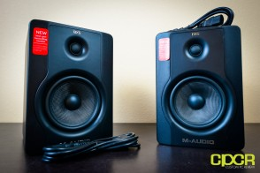 m audio bx5 d2 studio monitors custom pc review 4