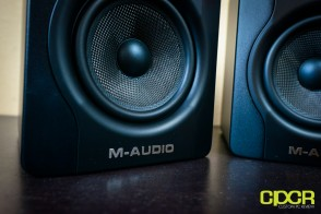 m audio bx5 d2 studio monitors custom pc review 6