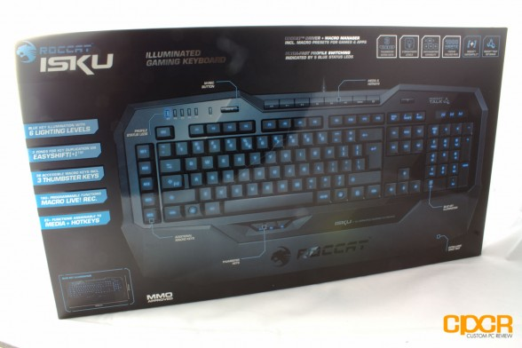 roccat isku custom pc review set