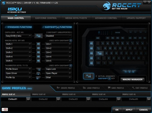 roccat isku software custom pc review 1