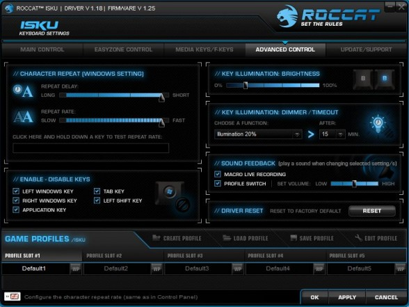roccat isku software custom pc review 4