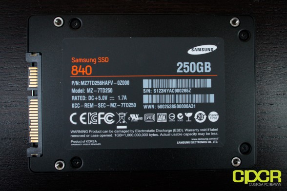 samsung 840 250gb ssd custom pc review 8