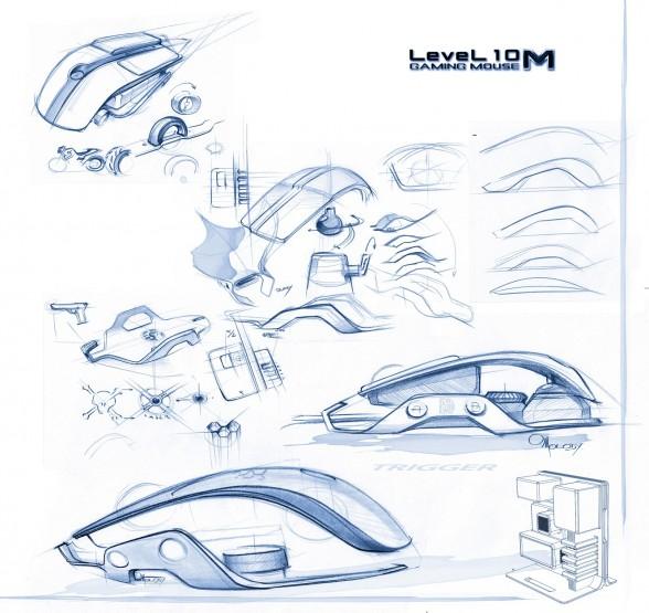 thermaltake bmw level 10 gaming mouse 1