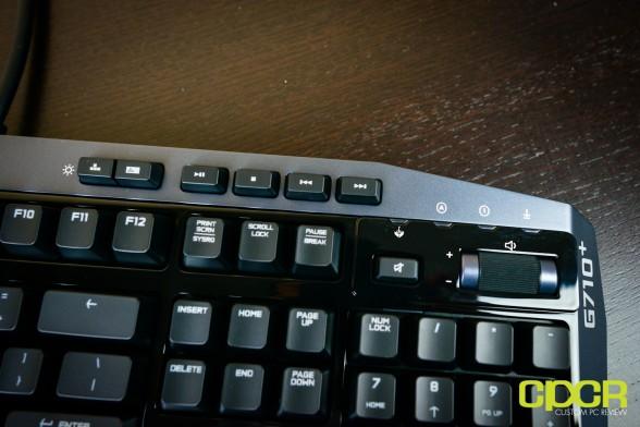 logitech g710 plus mechanical gaming keyboard custom pc review 12