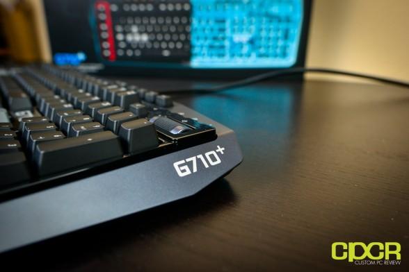 logitech g710 plus mechanical gaming keyboard custom pc review 18