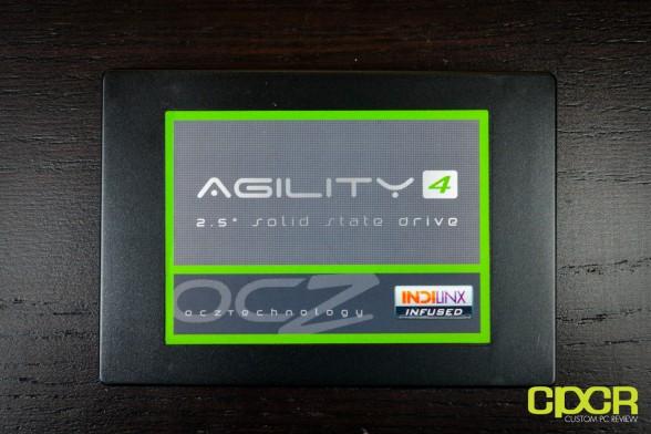 ocz agility 4 256gb ssd custom pc review 4