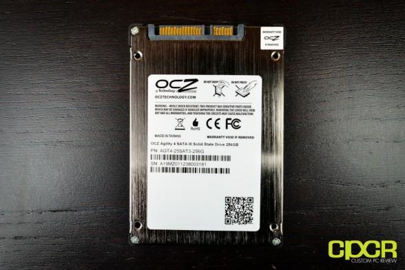 ocz agility 4 256gb ssd custom pc review 5