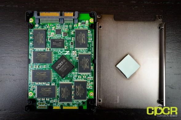 ocz agility 4 256gb ssd custom pc review 9