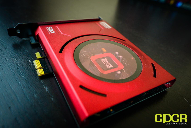 Creative Sound Blaster Z PCIe Sound Card Review   Custom PC