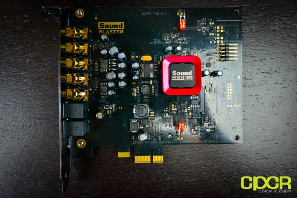 creative sound blaster z pcie sound card custom pc review 8