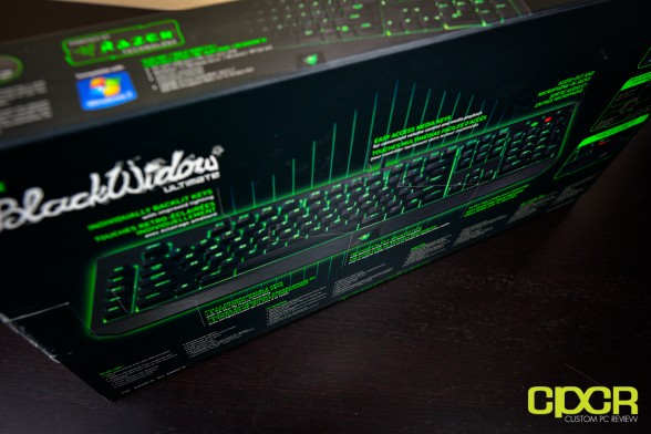 razer blackwidow 2013 ultimate edition mechanical gaming keyboard custom pc review 19