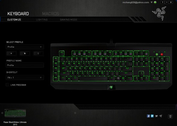 razer blackwidow 2013 ultimate edition mechanical gaming keyboard custom pc review 22
