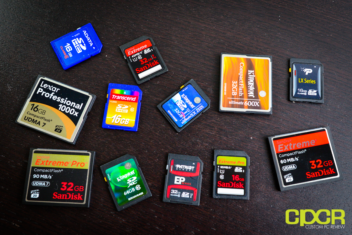 best memory card roundup 13 memory cards tested custom pc review. Black Bedroom Furniture Sets. Home Design Ideas