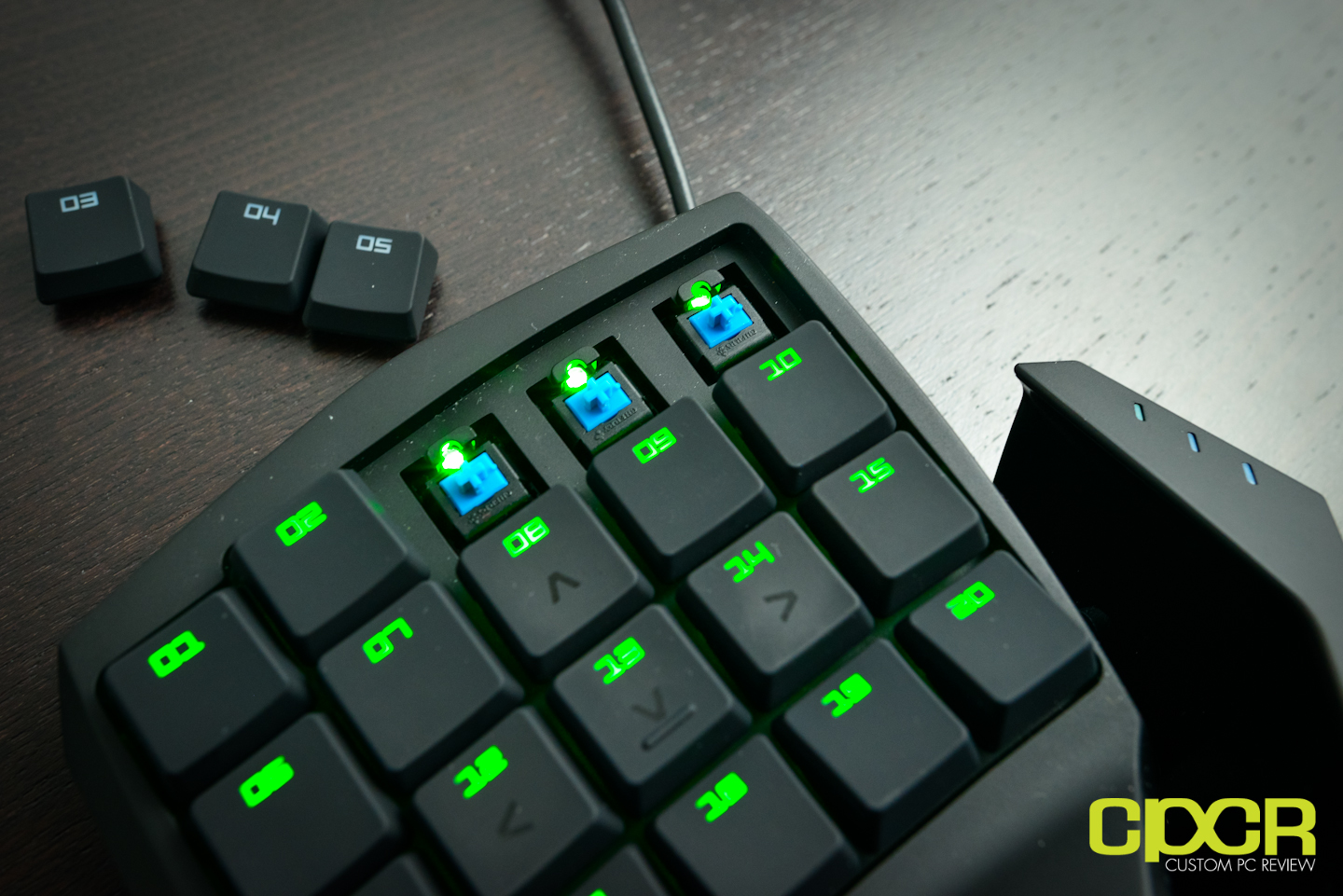 Razer Orbweaver Mechanical Gaming Keypad Review | Custom PC
