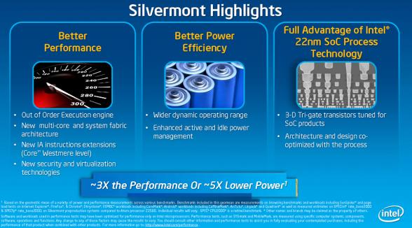 silvermont high lights