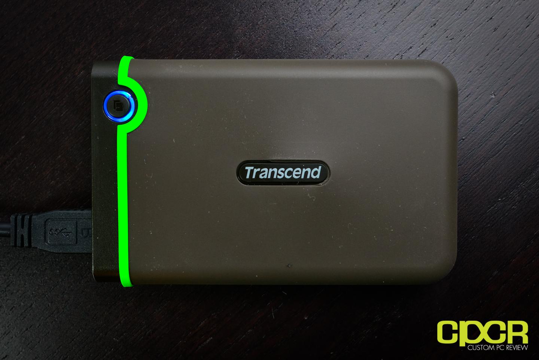 2 TB Transcend - 25M3 Storejet USB 3.1 Portable Hard Drive