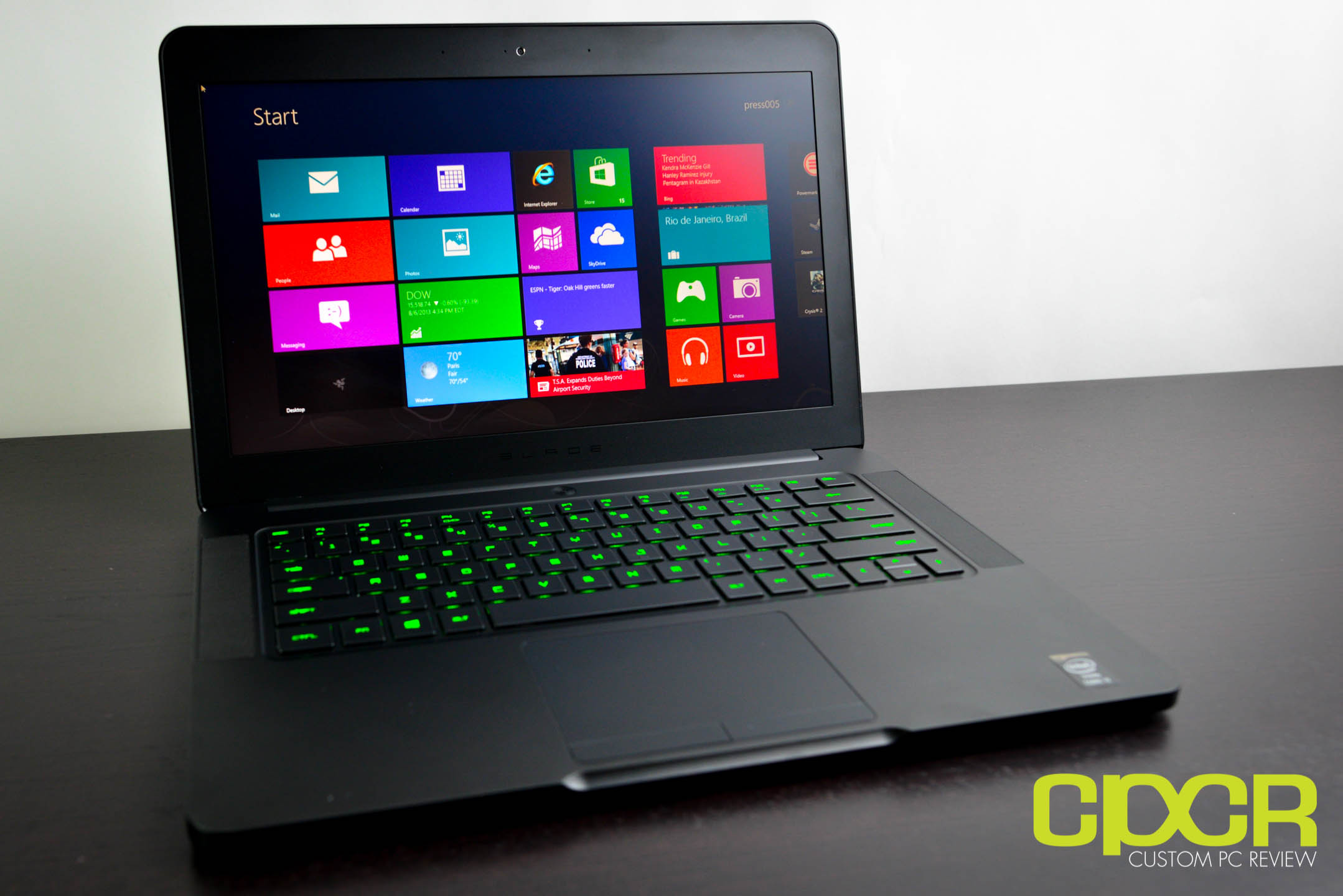 Razer Blade 14 Inch Gaming Notebook Review Custom Pc Review