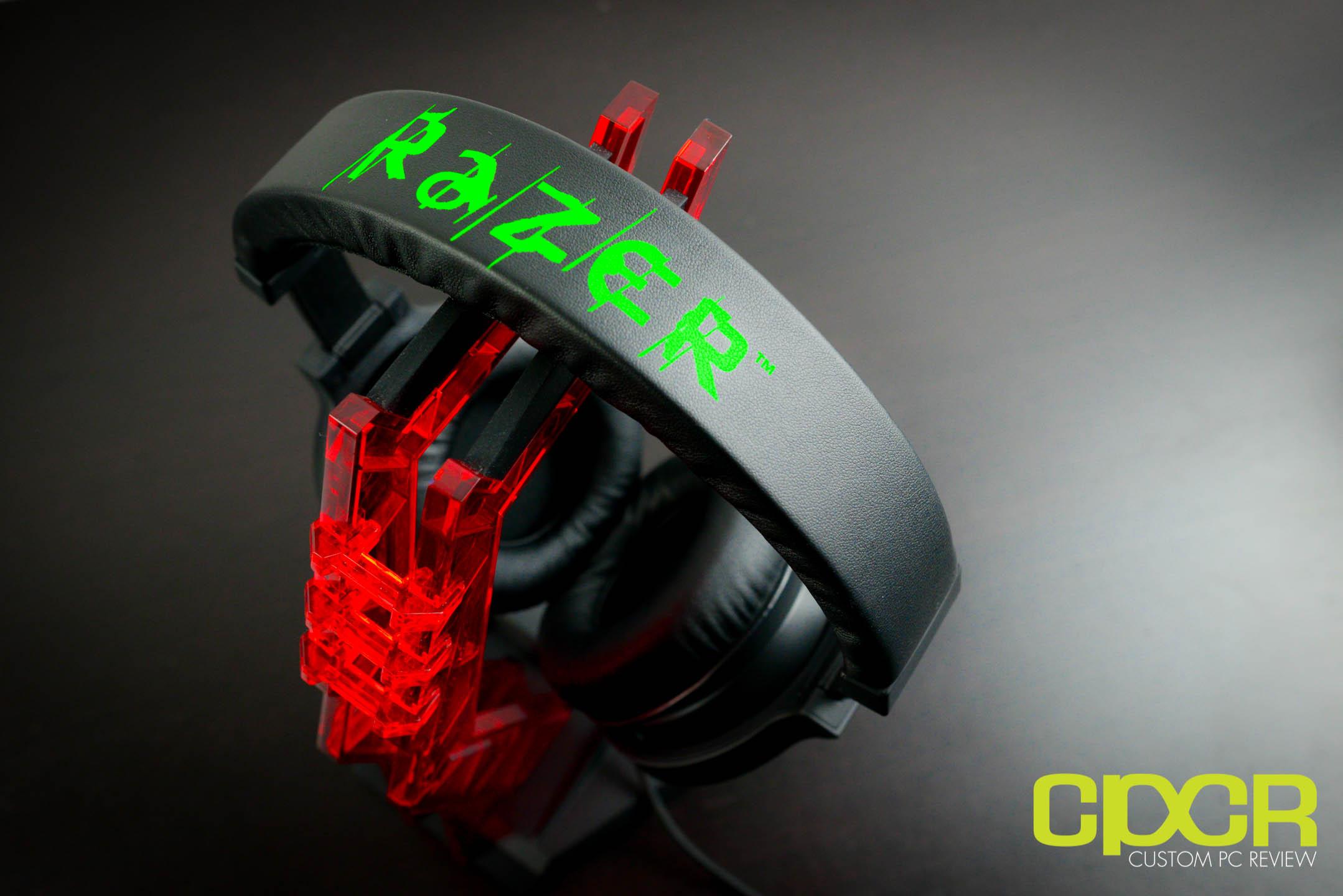 Review razer kraken 71 surround sound gaming headset custom pc razer kraken 7 1 surround sound gaming headset sciox Images