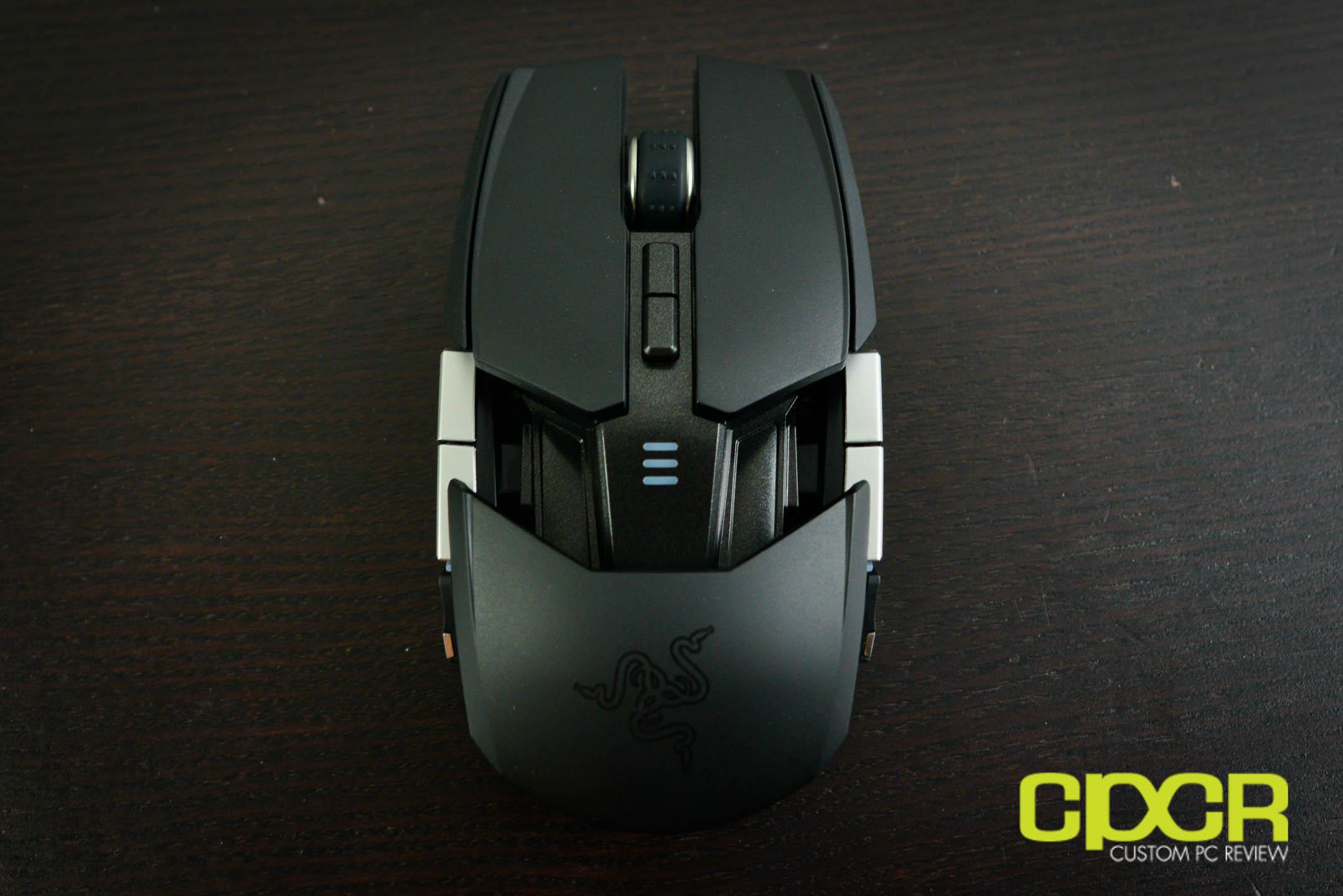 Review Razer Ouroboros Wireless Gaming Mouse Custom Pc Black