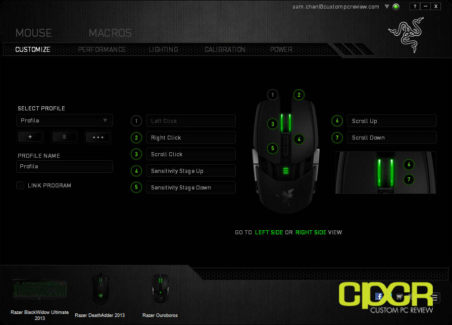 Review: Razer Ouroboros Wireless Gaming Mouse | Custom PC Review