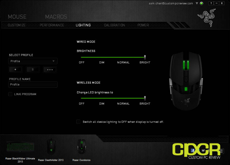 Review Razer Ouroboros Wireless Gaming Mouse Custom Pc