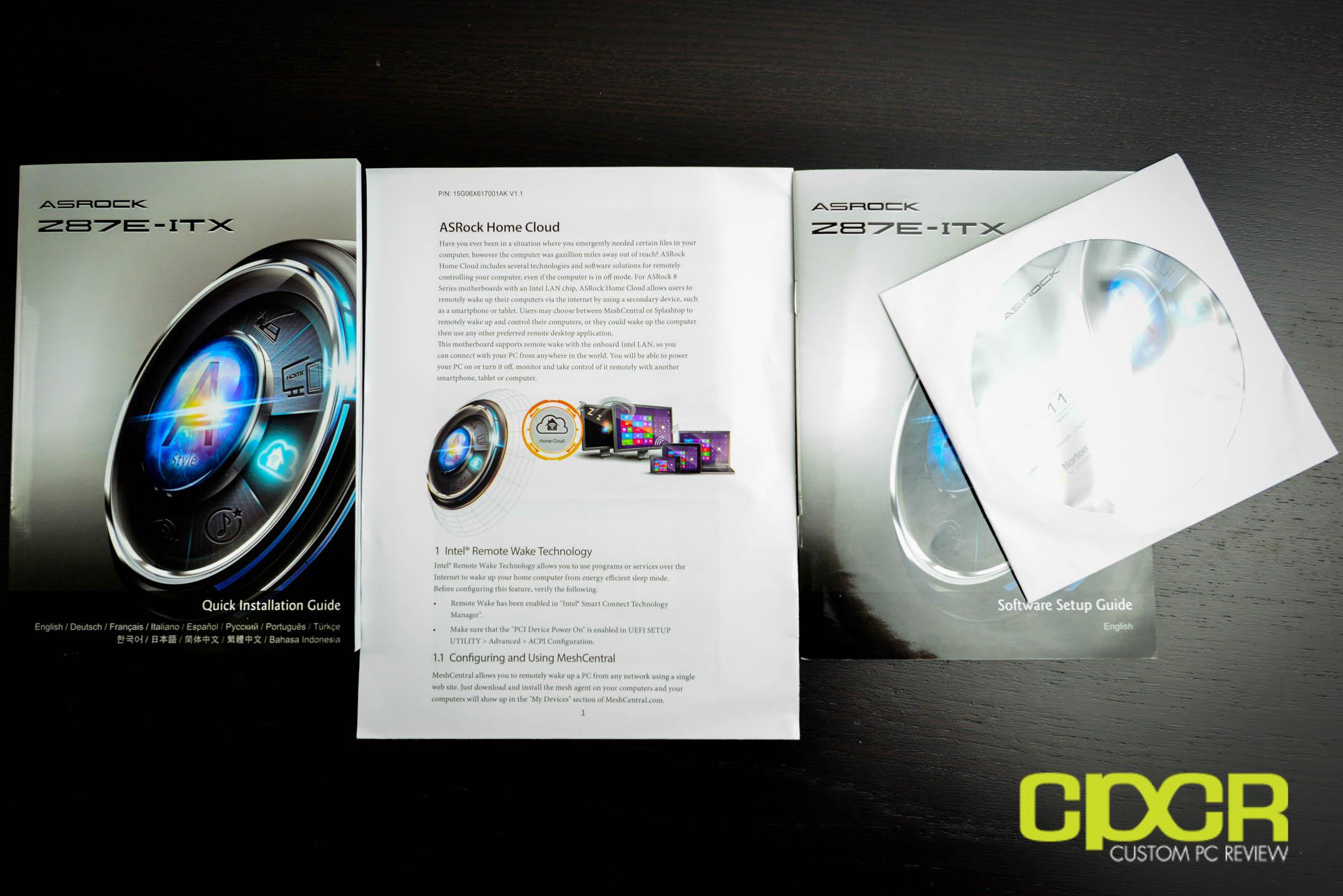 Review: ASRock Z87E-ITX Mini-ITX Motherboard | Custom PC Review