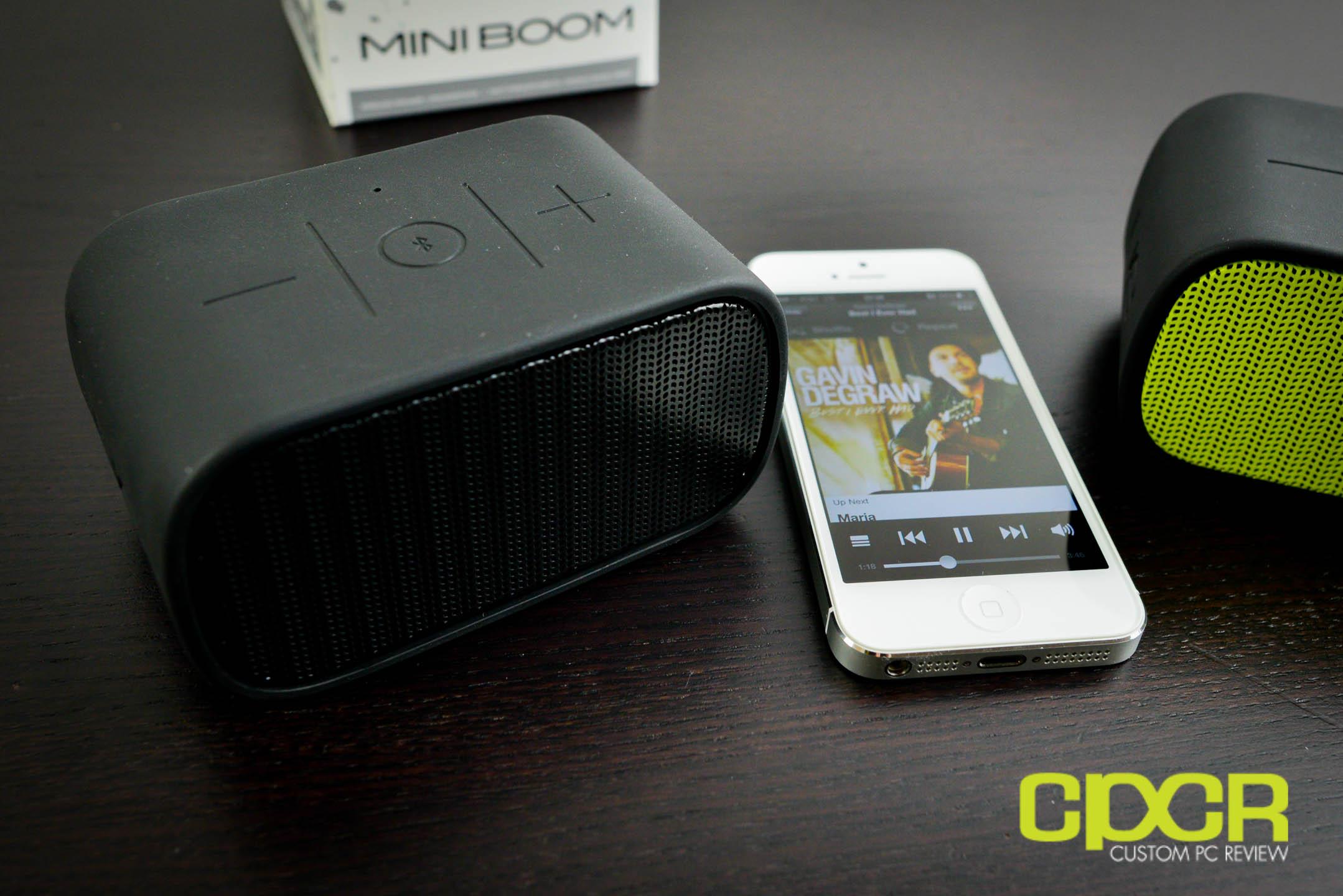 review logitech ue mini boom bluetooth speaker custom. Black Bedroom Furniture Sets. Home Design Ideas