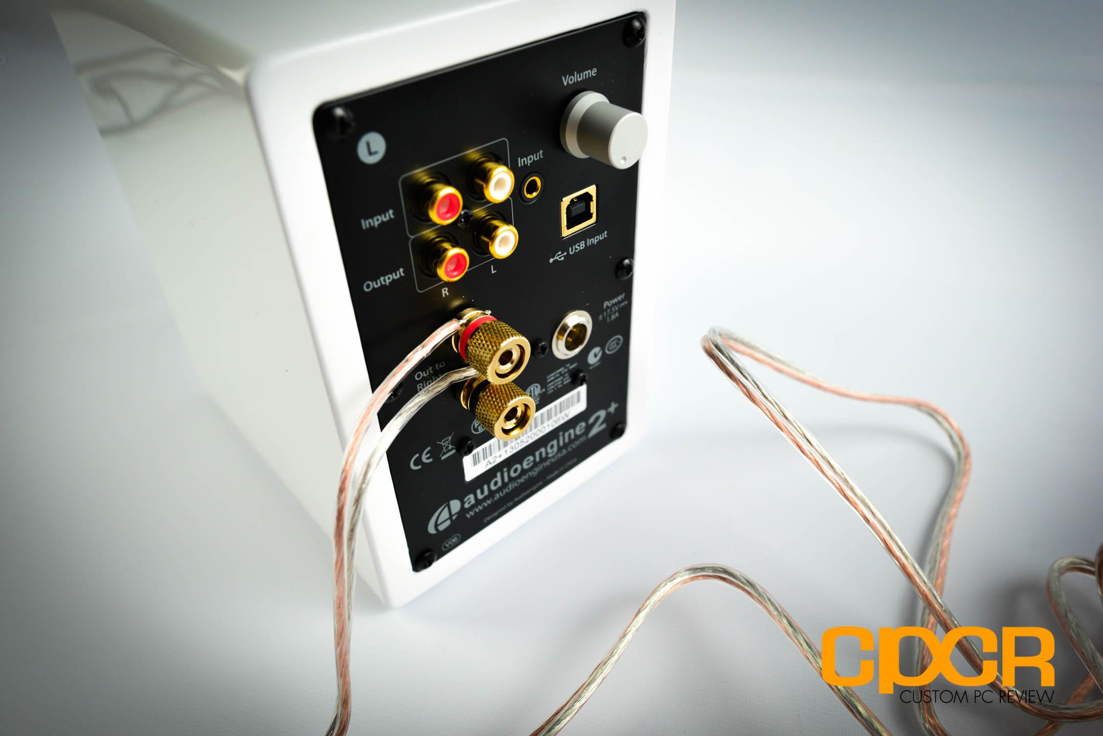 Audioengine A2 Review Powered Desktop Speakers Custom Pc Usb Speaker Wiring