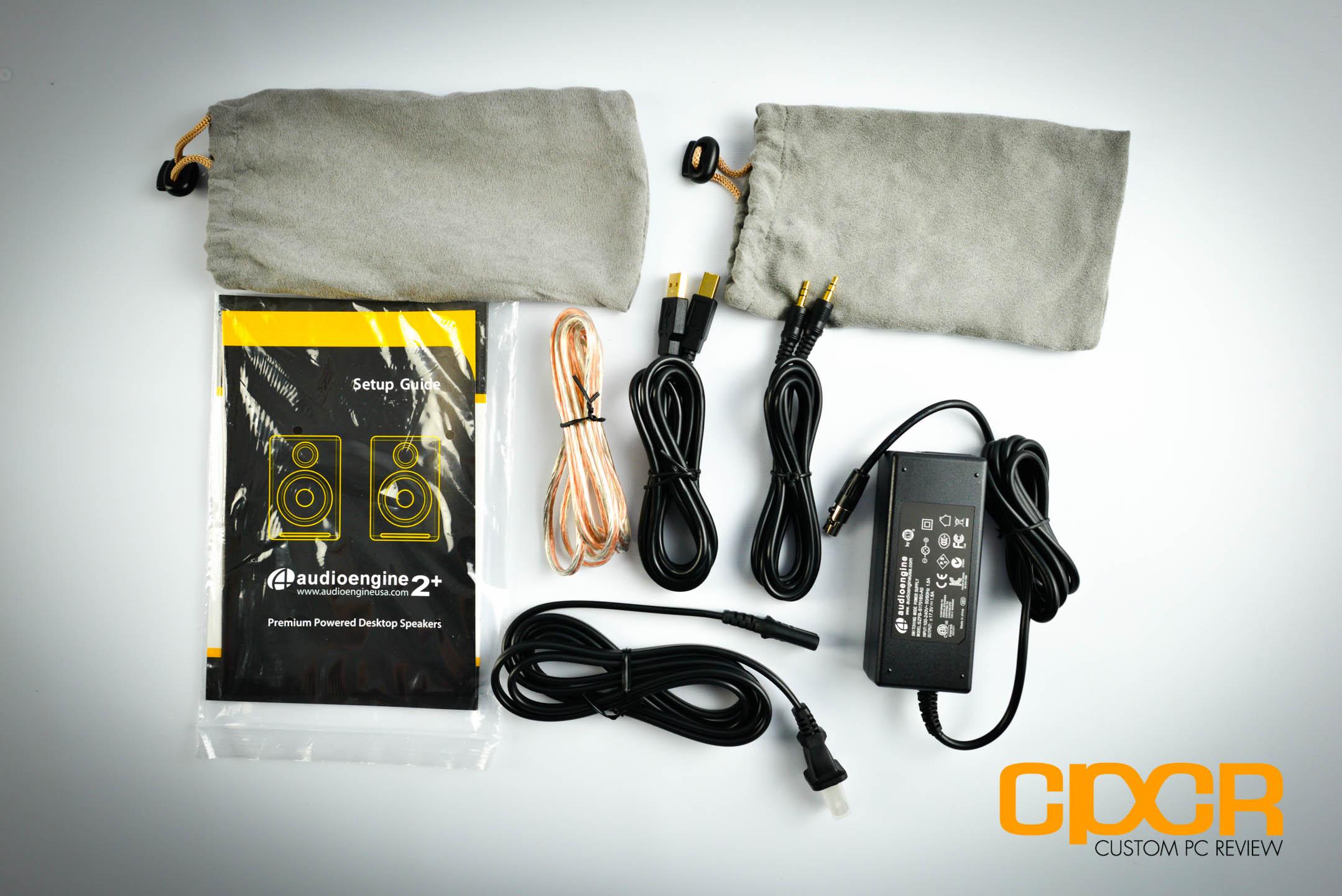 A2 premium powered desktop speakers youtube - Audioengine 2 Plus Powered Desktop Speakers Custom Pc