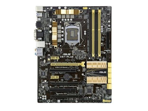 asus z87 plus lga 1150 motherboard