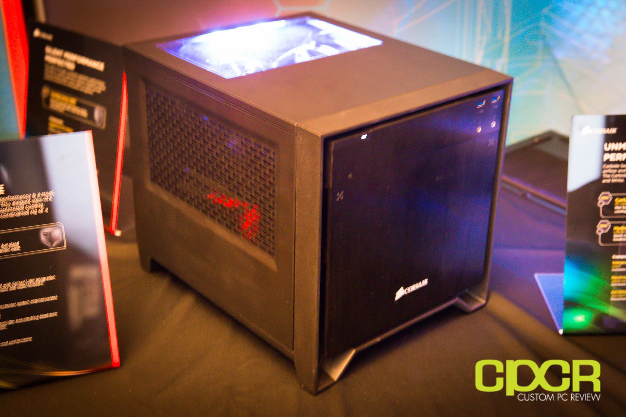 ces 2014 corsair graphite 760t obsidian 250d custom pc review