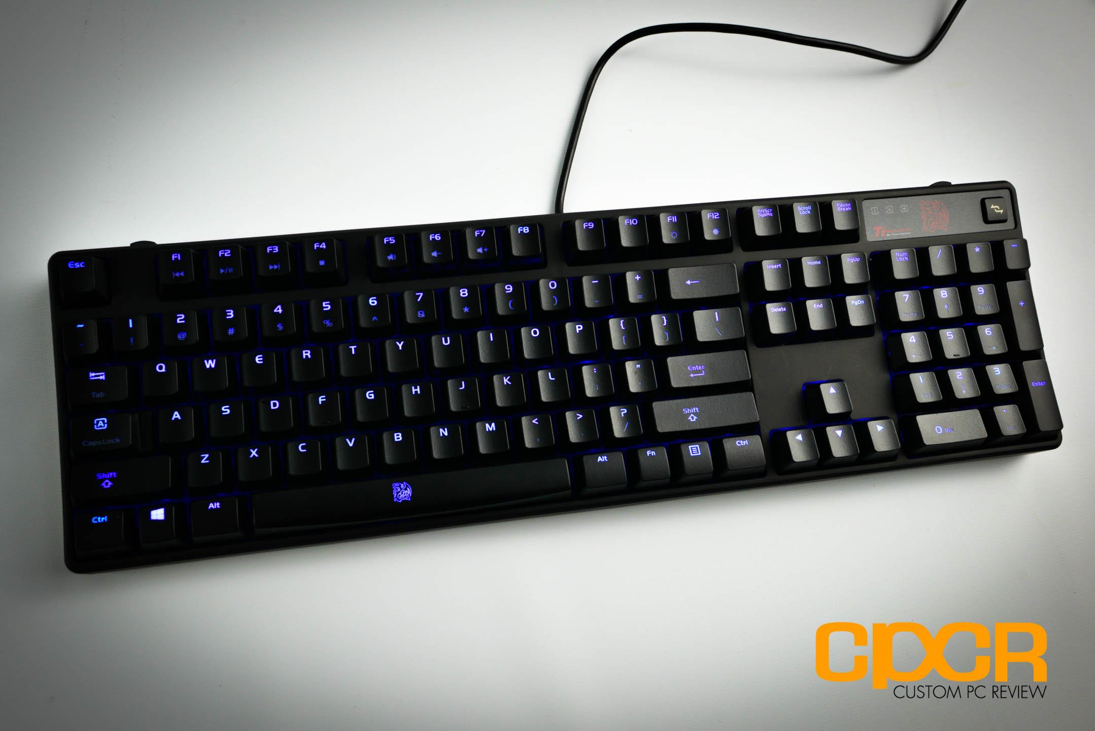 Thermaltake ttesports poseidon z mechanical gaming keyboard custom pc