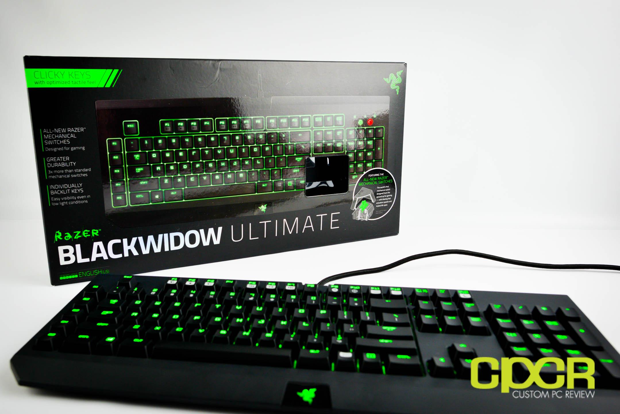 Review: Razer Blackwidow Ultimate 2014 (Razer Green ...  Review: Razer B...