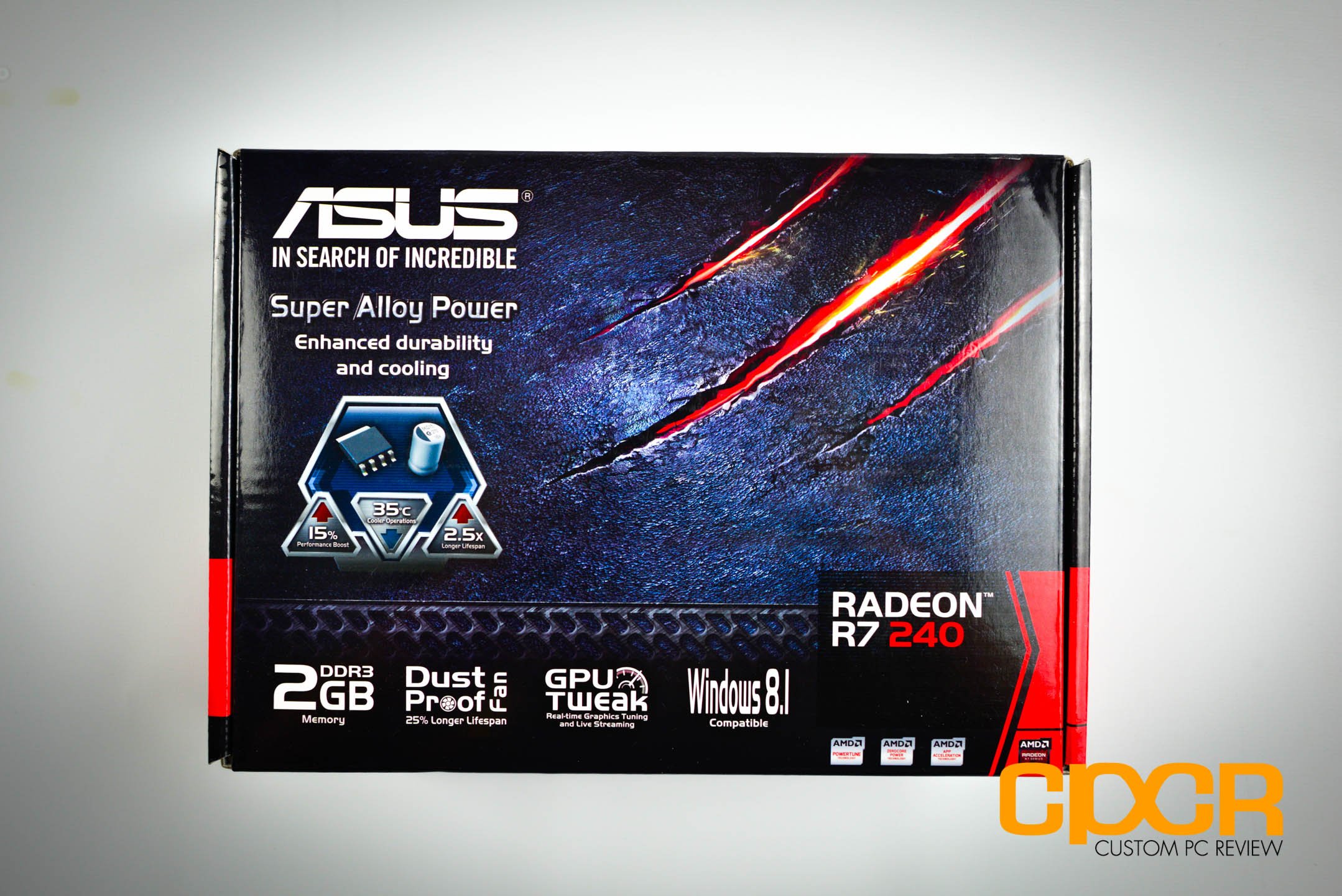 ASUS Radeon R7 240, R7 250 Review | Graphics Card | Custom PC Review